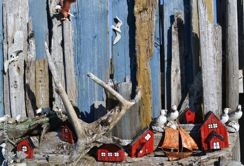 Wooden Artwork – Polar Region