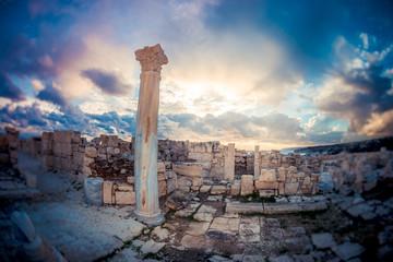 Kourion ruins. Limassol District, Cyprus
