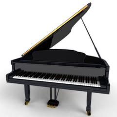 Klavier / Piano Frontansicht