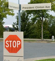 President Clinton Ave.