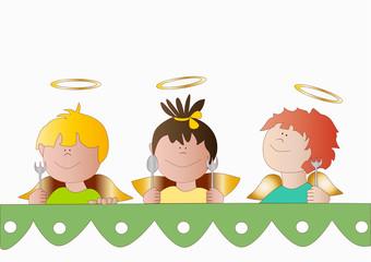 Angeli a tavola