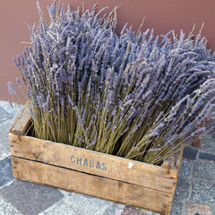 Lavender in the drawer