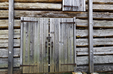 Barn Door and Wall