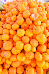 oranges at market
