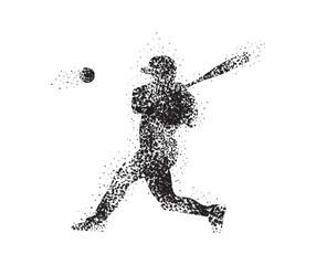 Baseball Art Ball illustration stars splash 2