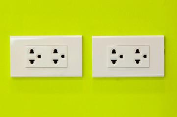 Plug socket in modern place