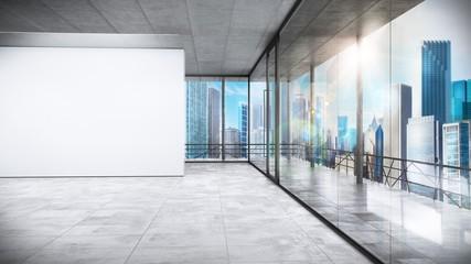 Obraz Management office - fototapety do salonu