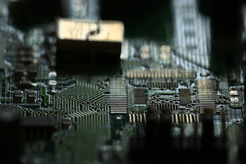 background chip computer electronics