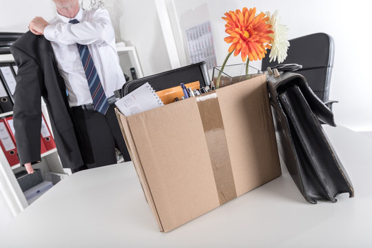 Concept of job loss