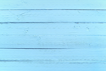 Painted blue wood background texture