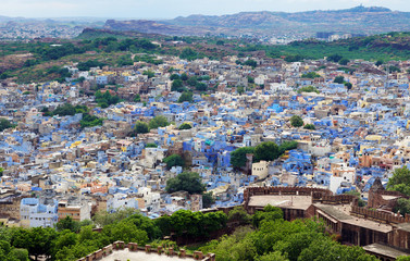 Jodhpur ville bleu