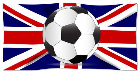 British Flag and Football