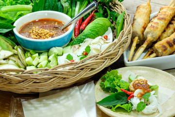 Nham due, Vietnamese food