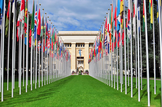 United Nation building, Geneva