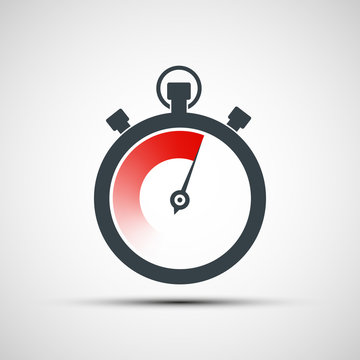 Logo sports stopwatch.