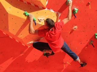Lezioni di arrampicata su roccia