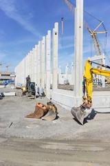Neubau Logistikhalle