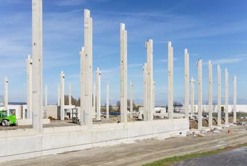 Neubau Fabrikhalle