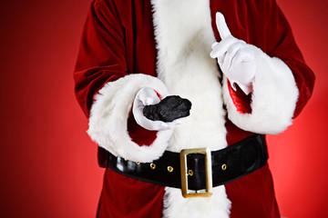 Santa: Naughty People Get Coal For Christmas