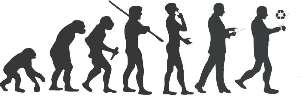 Human evolution, wearable technology