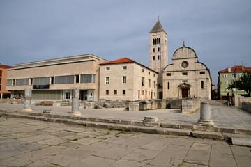 Croatia, picturesque city of Zadar in Balkan