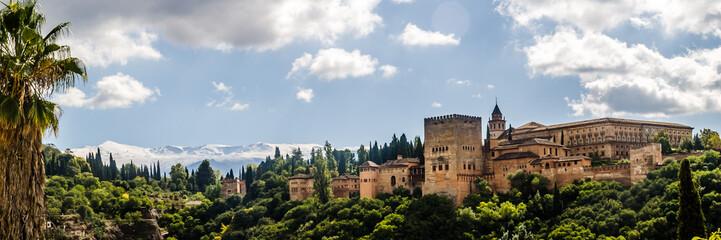 Poster de jardin Monument La Alhambra en Granada