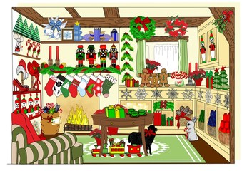 The Village Christmas Shop