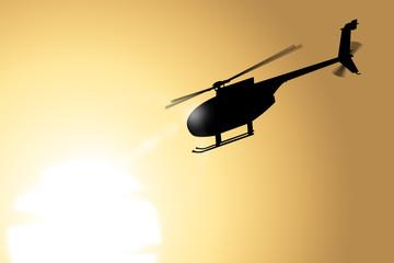 전쟁터의 헬리콥터