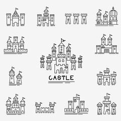 Castle Vector icon