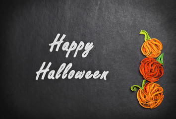 Quilling of pumpkins