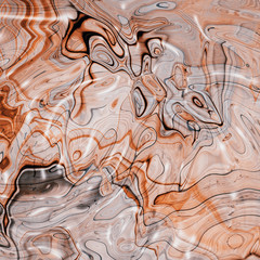 Mineral, colored marble with nacre