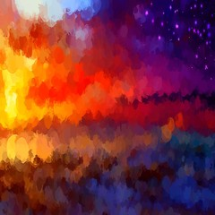 Colorful chalk brush strokes background.