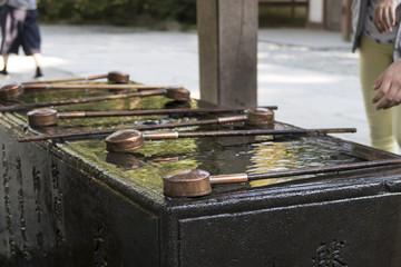 手水舎(てみずや・ちょうずや) 鎌倉大仏殿高徳院