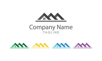 Real Estate And Property Logo Vector