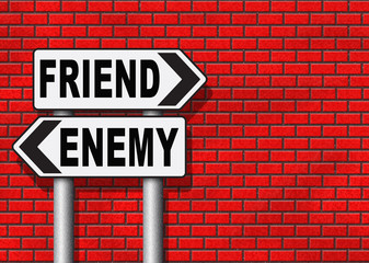 best friends or worst enemy