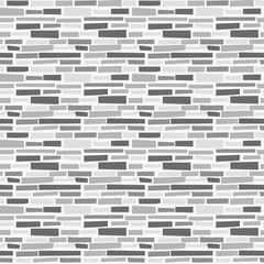 Cool Grey Bricks Seamless Pattern