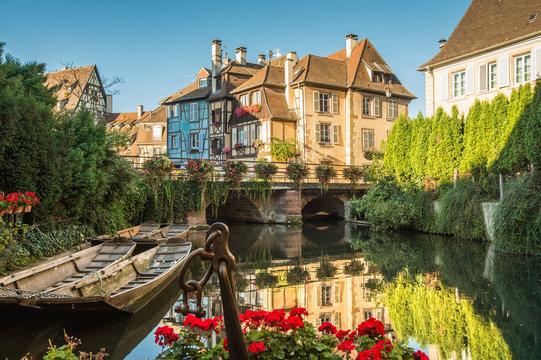 Colmar, Petite Venise, Alsace, France.