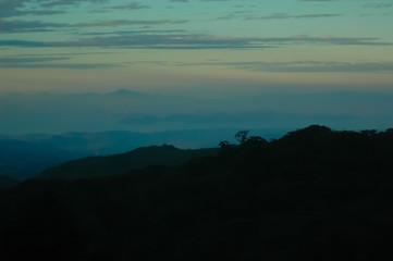 Dusk in Costa Rica