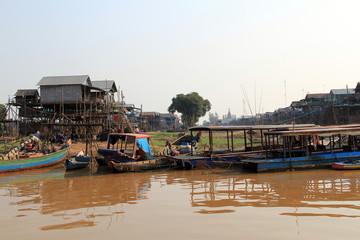 Kampong Plug floating village, Cambodia
