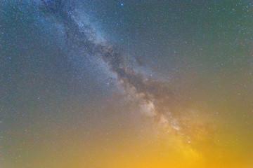night sky milky way background