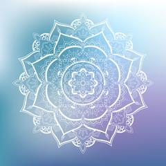 Ornamental circle pattern. Mandala
