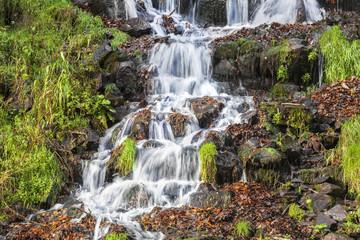 Wasserfall Gebirgsbach Wasser © Matthias Buehner