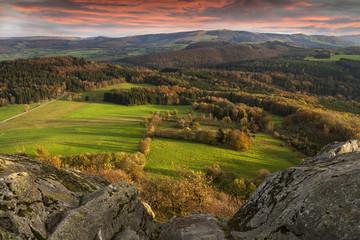 Mittelgebirge Perspektive © Matthias Buehner