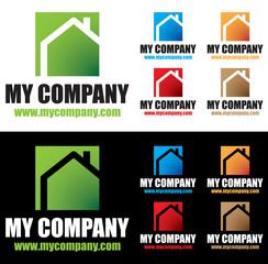 logo maison isolation