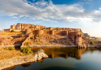 Poster Vestingwerk Mehrangarh Fort, Jodhpur, Rajasthan, India