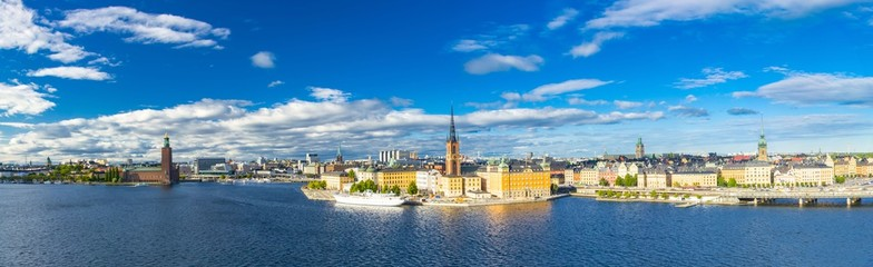 Wall Mural - Aerial view of Stockholm, Sweden