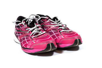 Colorful training shoes