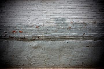 Printed kitchen splashbacks Spices Hintergrund graue Backsteinwand mit Fehlstellen