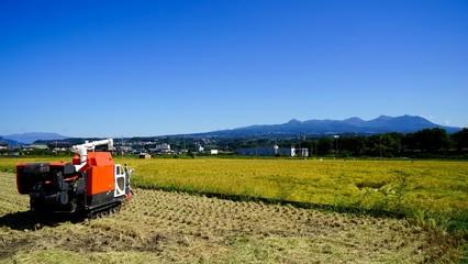 赤城山と農業