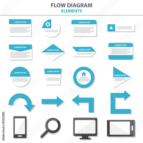 Flow chart multipurpose infographic elements and icon presentation flow chart multipurpose infographic elements and icon presentation template flat design set for advertising marketing brochure ccuart Gallery